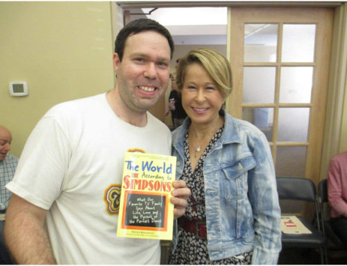 With Yeardley Smith (Voice of Lisa Simpson)
